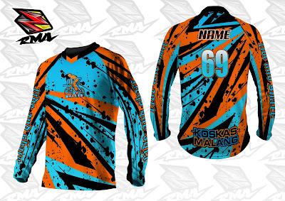 Jual Jersey Baju Pakaian Celana Sepeda, Motocross, Trail...dll - RMA Ride More Asia Jersey Sample 5