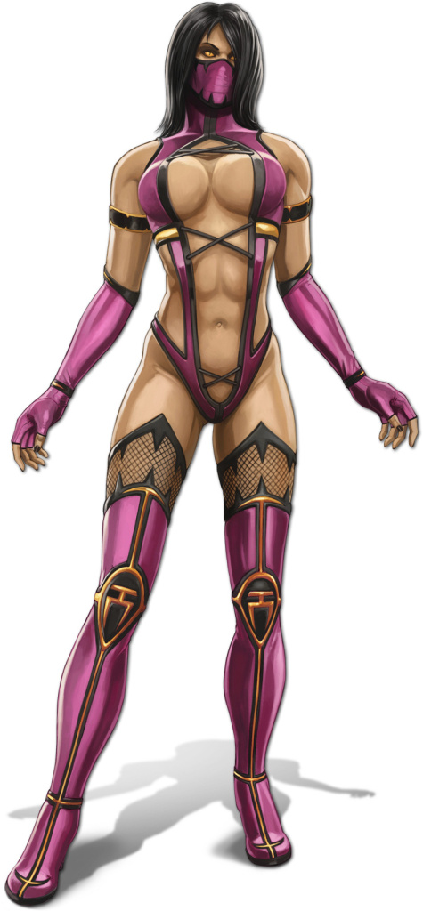 mortal kombat 9 reptile alternate costume. mortal kombat mileena