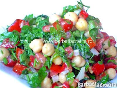 Salata de naut cu patrunjel reteta