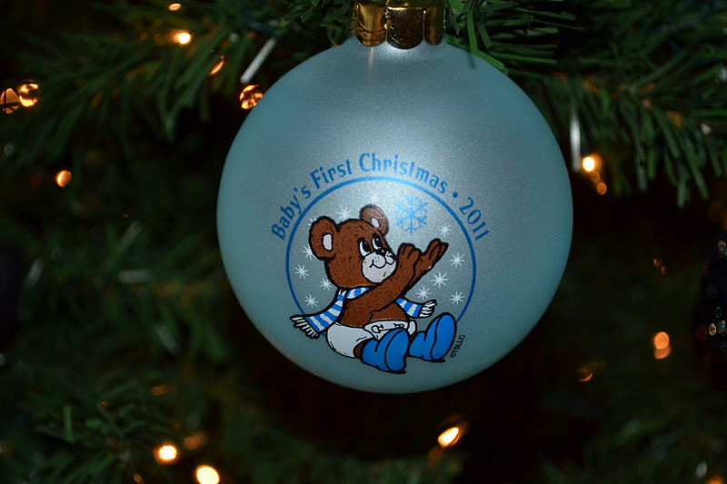 Baby S 2nd Christmas Ornament