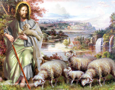 Jesus Christ As Shepherd