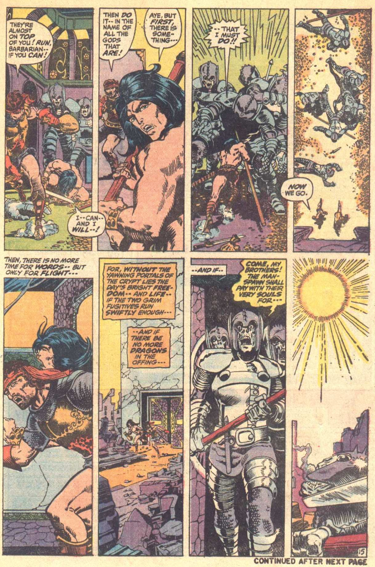 Conan the Barbarian (1970) Issue #8 #20 - English 16