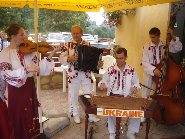 The Veseli Halychany Musicians from Ternopil, Ukraine