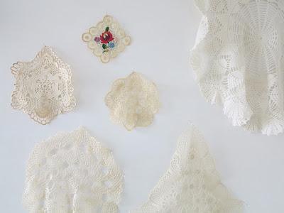 ByHaafner, crochet, doilies, doily, vintage, thrifted