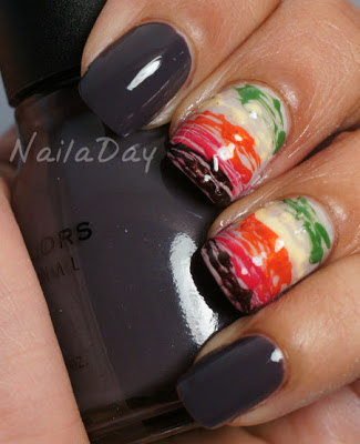 NailaDay: Sinful Colors Muse with Sugar Spun accent