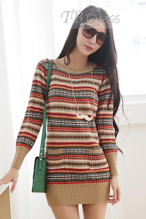 http://www.tbdress.com/product/Beige-Stripe-Print-Sweater-Dress-11181632.html