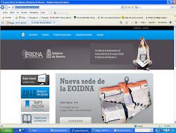 Enlace con la página web de la Escuela de Idiomas a Distancia de Navarra
