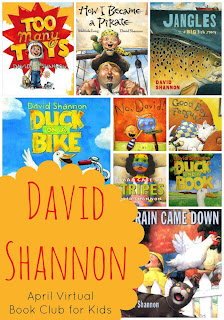 David shannon, shannon david, david by david shannon,  david books, ready set read, images