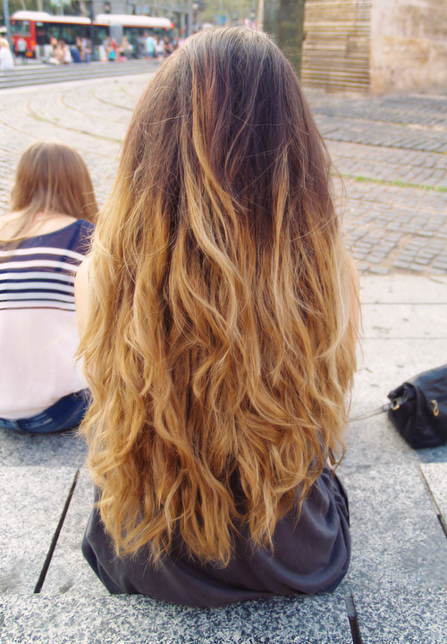 one length hairstyles : Natural Ombre Hair Tumblr Beauty trend: ombre hair