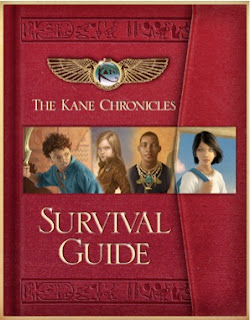 bookcover of The Kane Chronicles Survival Guide by Rick Riordan