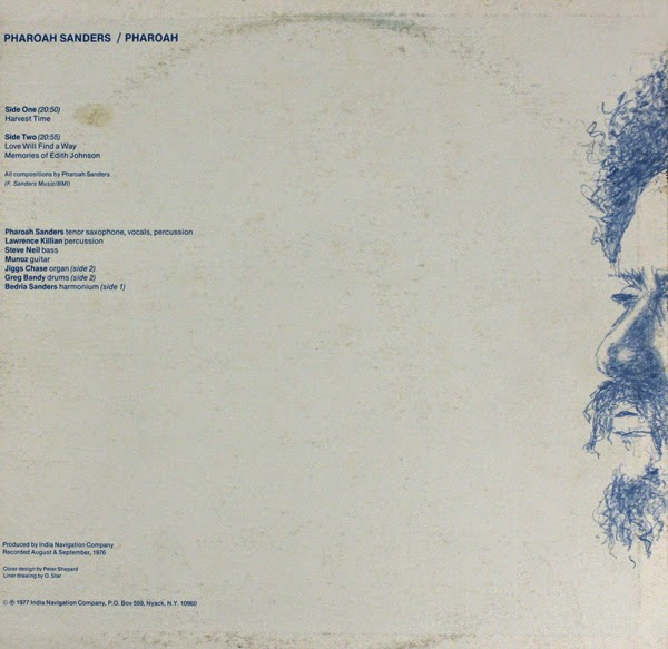 pharoah sanders love will find a way rar Way back in december last year i reviewed pharoah's 1976 lp 'pharoah' i noted that it was, by and large, a laid back funky slice of post.