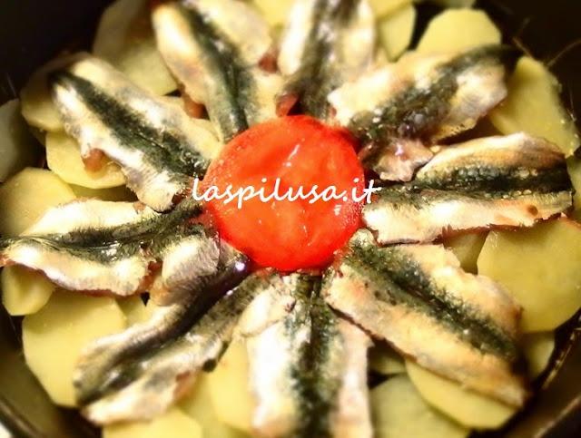 Ricetta Tortino di patate e sardine