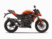 Motor Kawasaki Z250 SL Terbaru Resmi Dipasarkan