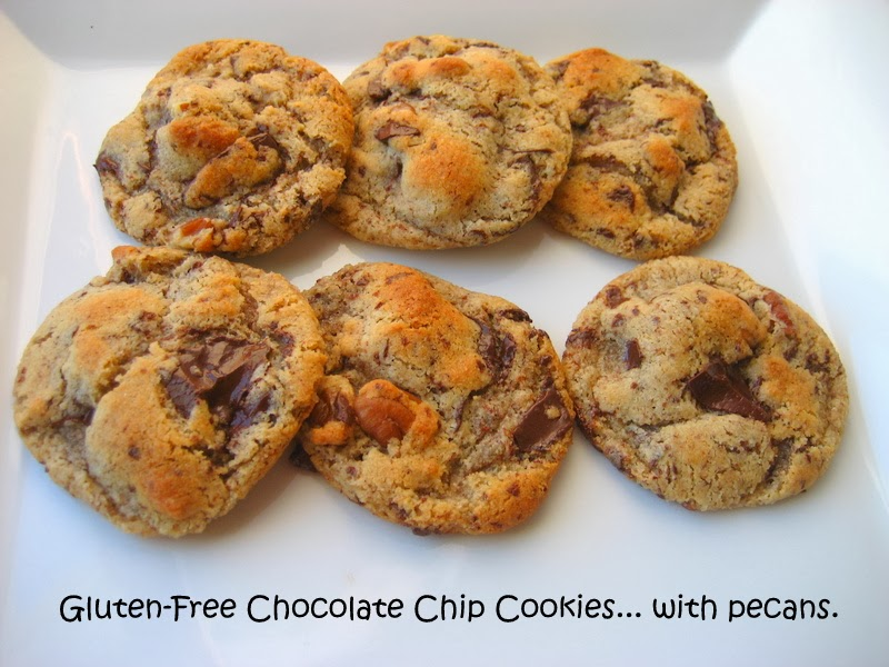 ... In Montana: Gluten-Free Chocolate Chip Cookies... with almond flour