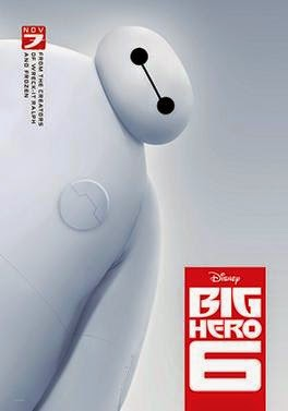 Big Hero 6 Movie Poster, Big Hero 6 movie review