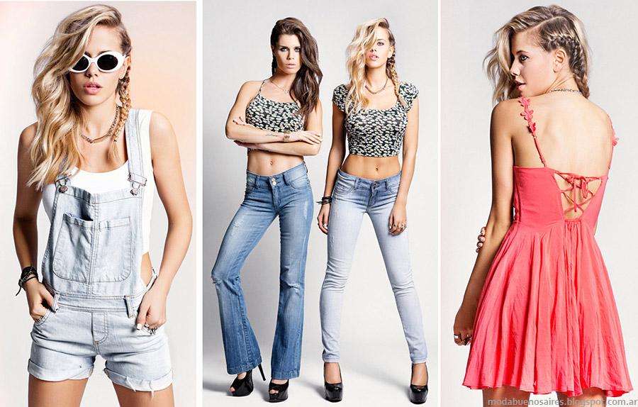 Moda verano 2015. Tabatha Jeans ropa verano 2015.