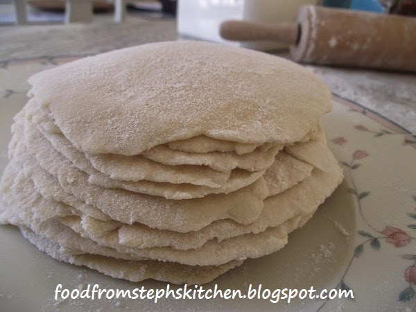 Mini tortillas - Steph's Kitchen