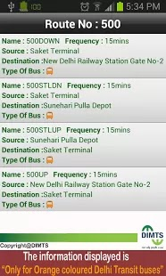 Bus Transit in Delhi and National Captial Region becomes easy with launch of Android App, mobile site and website