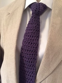 Mixin it up with DaPerfectMix: Show & Tell Crochet Tie