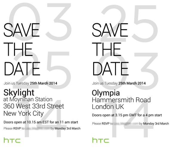 HTC March 25th invite