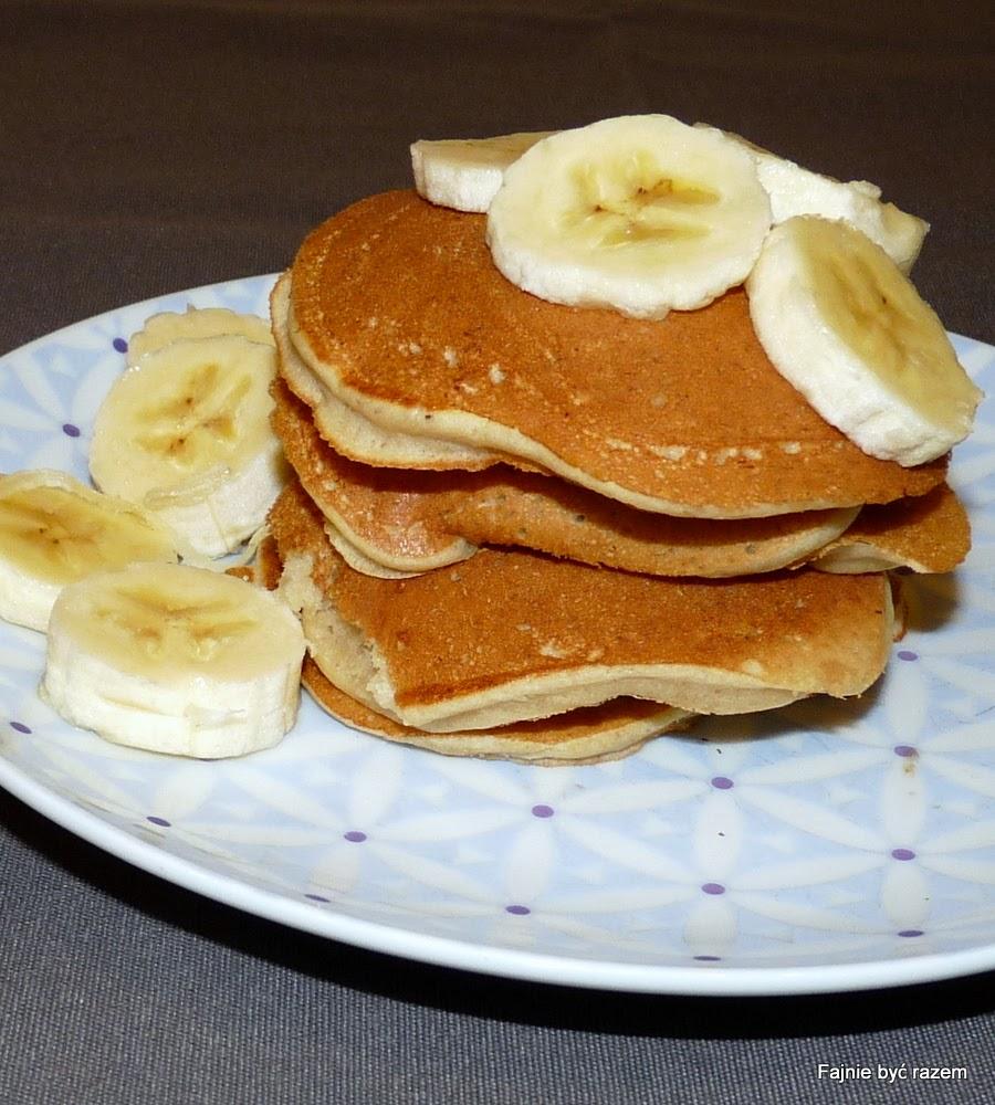 Przepis na placuszki bananowe