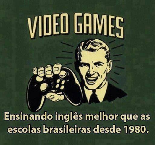 video game ensinando inglês, imagem