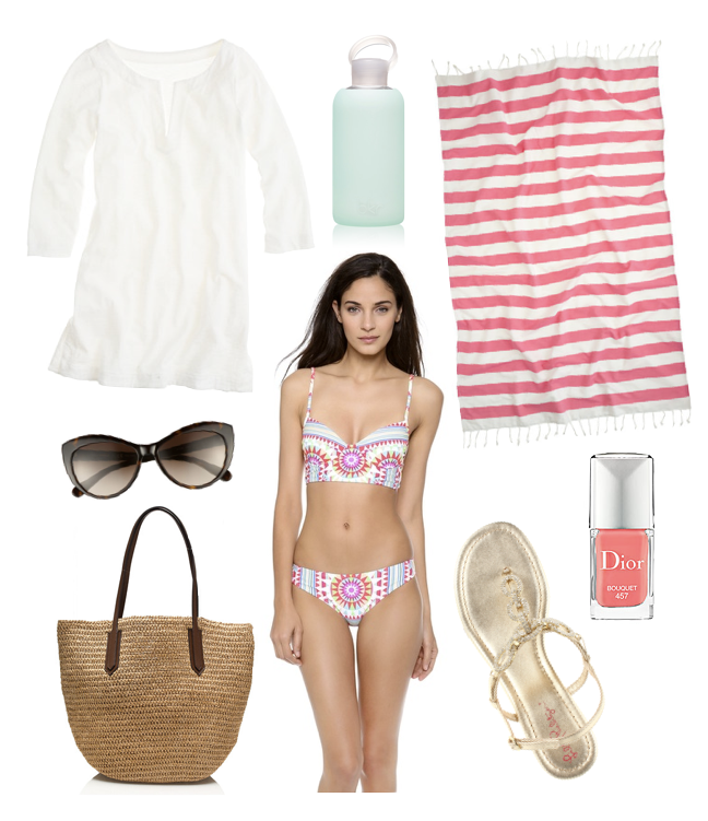 beach vacation fashion