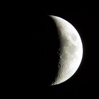 Eu sou como a lua tenho fases Estamos en luna menguante