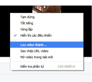 Cach download video tu Facebook ve may tinh