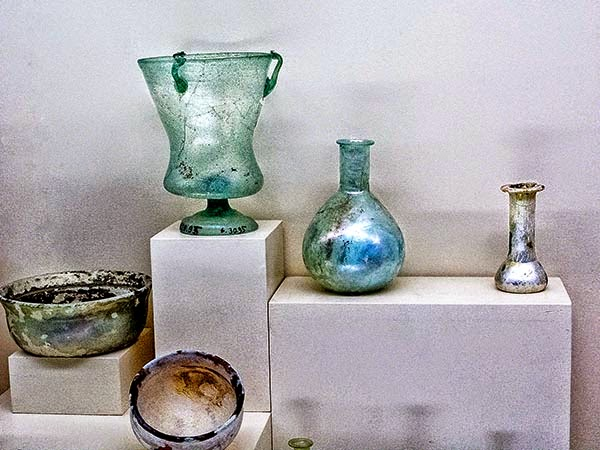 Antalya Archaeological Museum: Glass, one of the West's Inventions