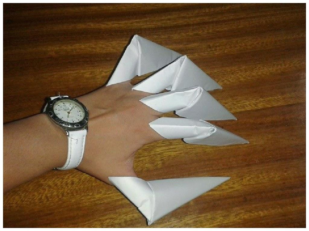 origami garras