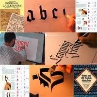 Aprende caligrafía gótica