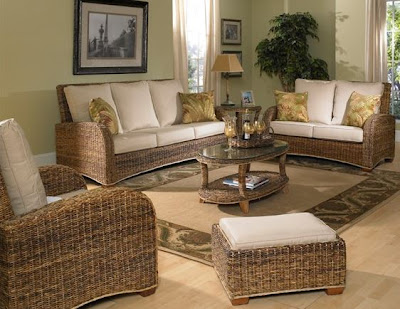 seagrass furniture set