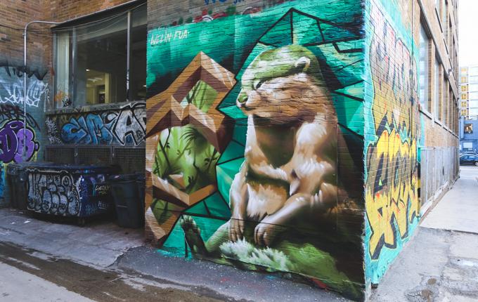 Toronto, Street Art, Graffiti,