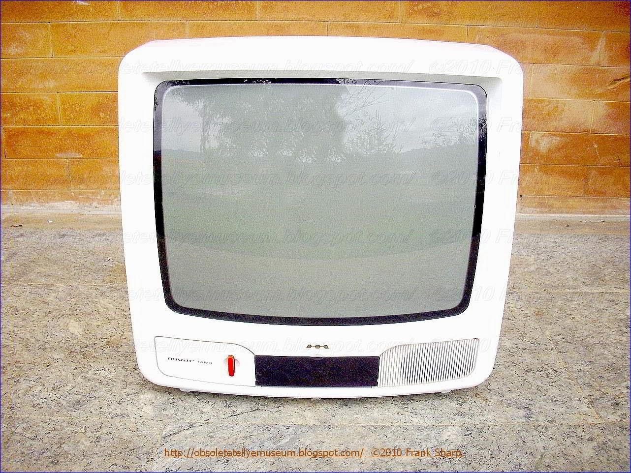 Obsolete Technology Tellye !: MIVAR 14M4 WHITE YEAR 1998.