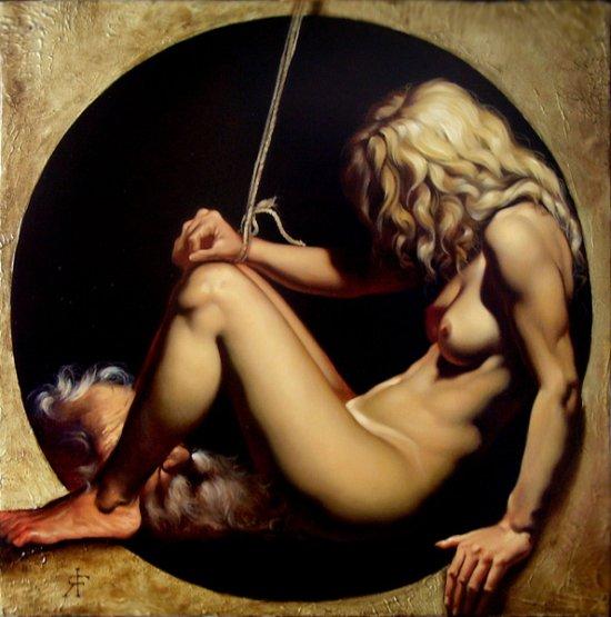 roberto ferri pinturas clássicas nudez sensualidade lascívia sexo mitologia