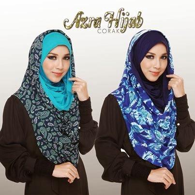 Koleksi Terbaru Paling Menawan Azra Hijab. Selesa & Terdapat Dalam Pelbagai Warna.