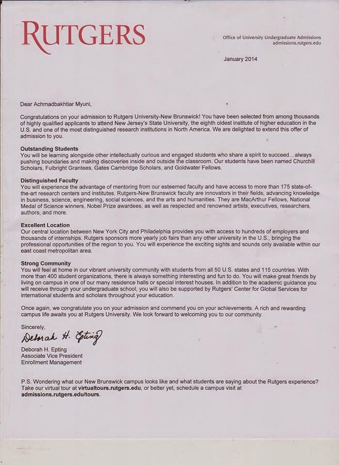 Rutgers admissions essay 2011