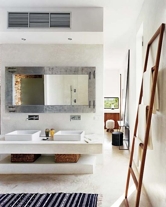 Ev dekorasyon hob dekoratif merdivenler - Cornici specchio bagno ...