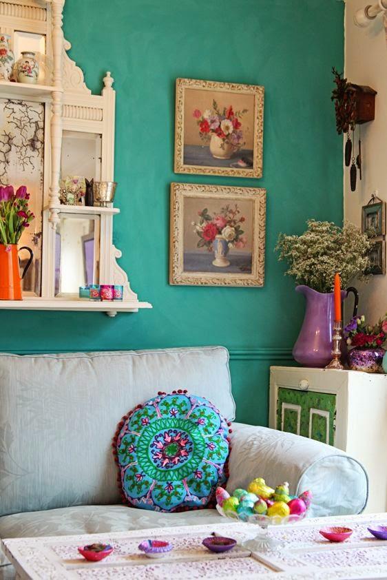 Blue Chalk Paint Homebase
