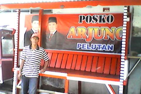 Dukung Junaedi, Solichin Bikin 'Posko Arjuno'