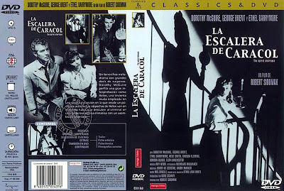 Cover, dvd, carátula: La escalera de caracol | 1945 | The Spiral Staircase