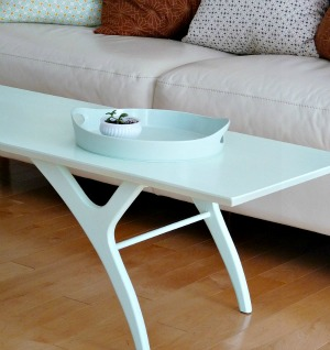 Mid-Century Coffee Table Makeover