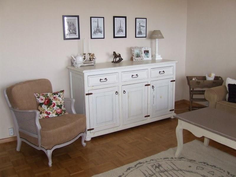 dekorator amator salon iwony w stylu shabby chic. Black Bedroom Furniture Sets. Home Design Ideas