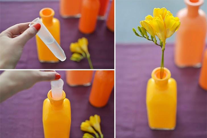 garrafas pintadas como fazer