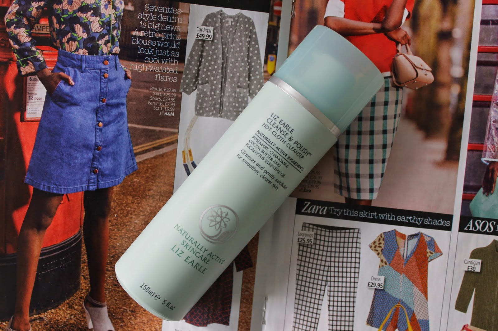 Review: Liz Earle Cleanse & Polish Hot Cloth Cleanser