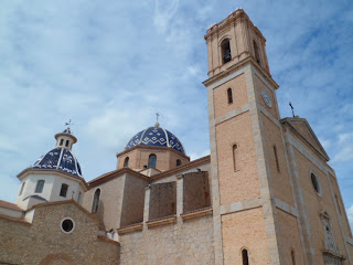 Altea church / cathedral, Spain