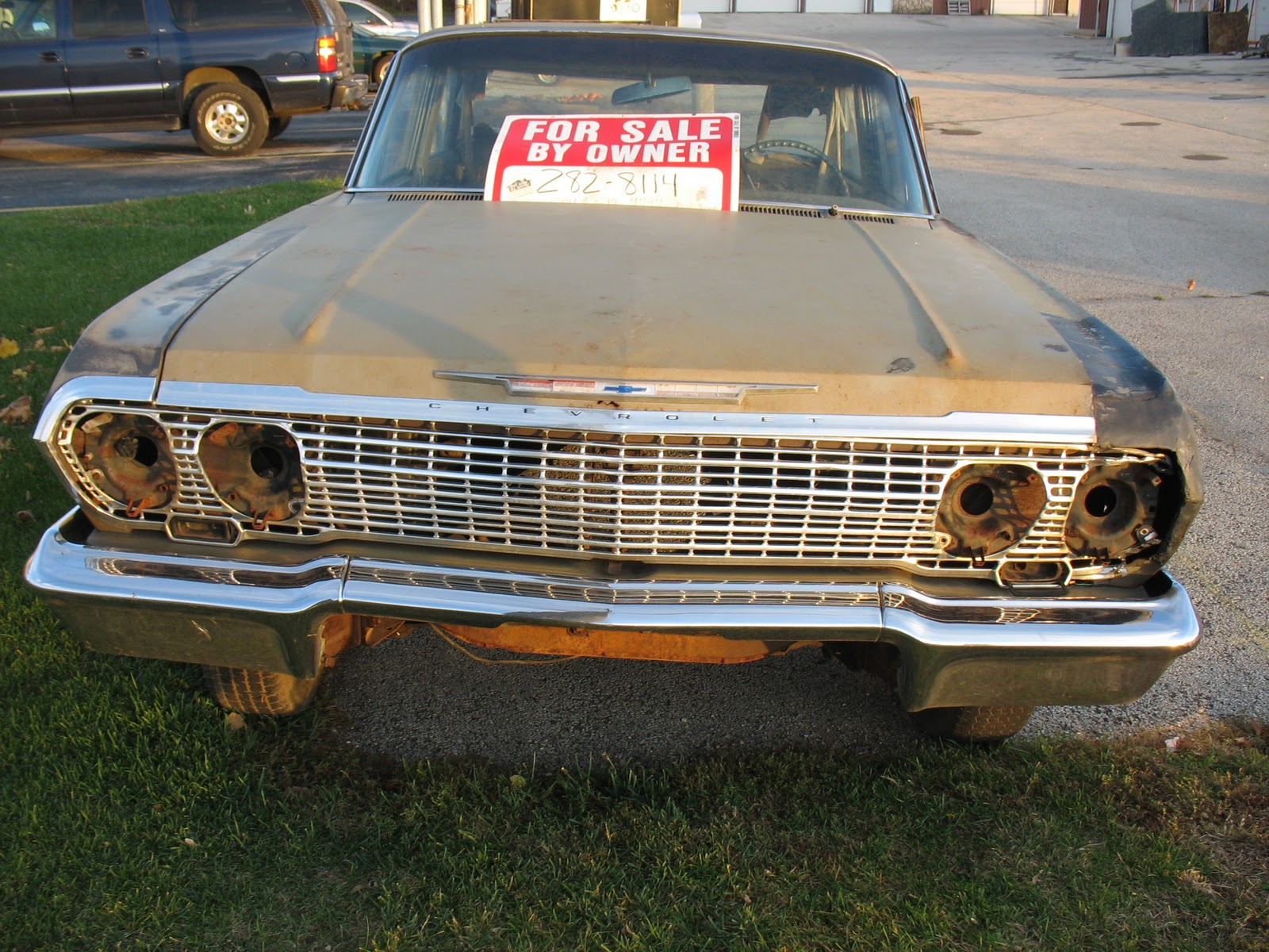 For sale 1964 chevy impala nice project car