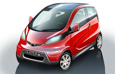 Lotus City Car, kereta masa depan