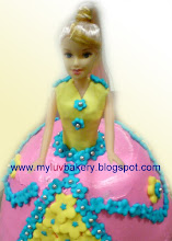 Butter Cream Doll Cake